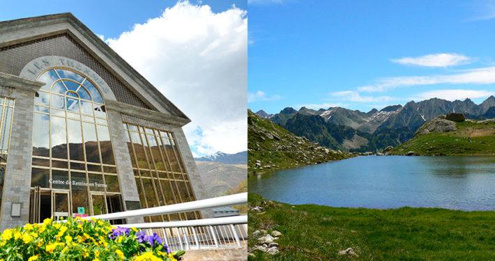 Centre Luzea Luz St Sauveur et lac des Pyrénnées